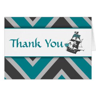 El bebé del pirata del trullo le agradece tarjeta