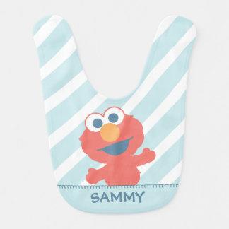 El bebé Elmo el | añade su nombre Babero