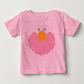 El bebé Elmo hace frente Camiseta De Bebé