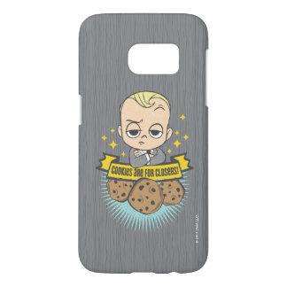¡El bebé y las galletas del bebé el | de Boss Funda Samsung Galaxy S7