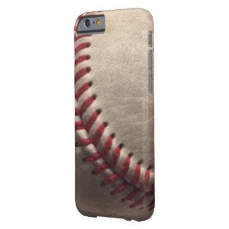 El béisbol cose el iPhone sucio 6/6s, Barely There Funda Barely There iPhone 6