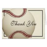 El béisbol del vintage le agradece