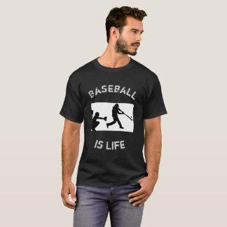El béisbol es béisbol de la vida - camisetas de