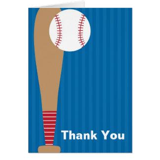 El béisbol le agradece las tarjetas