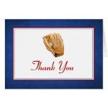 El béisbol le agradece tarjeta