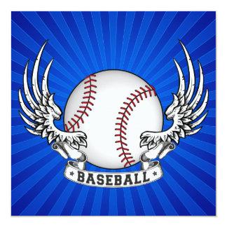 El béisbol se va volando la invitación