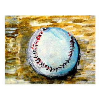 El béisbol tarjeta postal