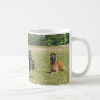 El belga Shepherds la taza de café