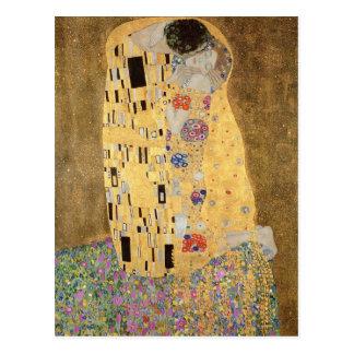 El beso, 1907-08 postales