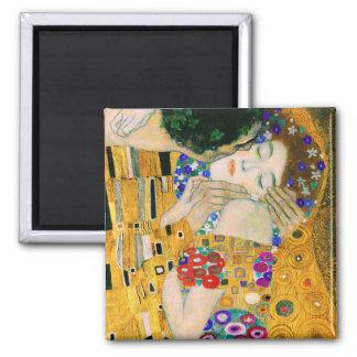 El beso de Gustavo Klimt Imán