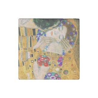 El beso de Gustavo Klimt Imán De Piedra