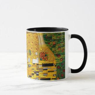 El beso de Gustavo Klimt Taza