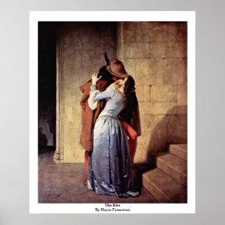 El beso de Hayez Francisco Posters