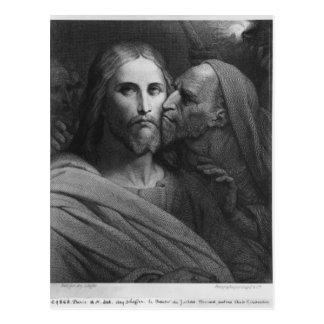 El beso de Judas 2 Postal