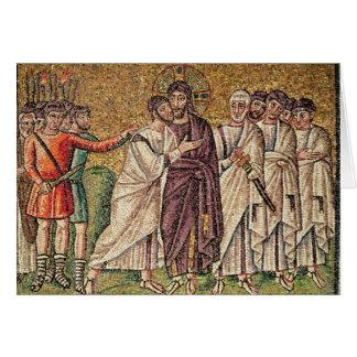 El beso de Judas, escenas a partir de la vida de C Tarjetas