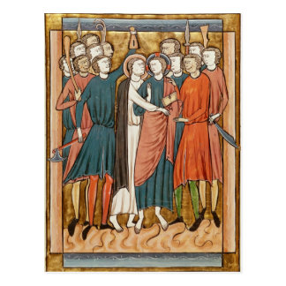 El beso de Judas, 'Psautier l'Usage de una París Postal