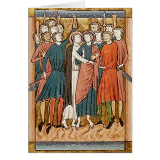 El beso de Judas, 'Psautier l'Usage de una París Tarjetón