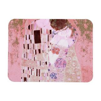 El beso en rosas iman