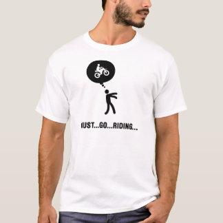 El Biking de la suciedad Camiseta