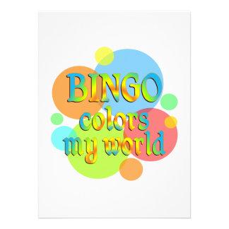 El bingo colorea mi mundo