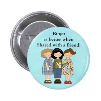 El bingo es mejor cuando botón