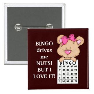 El bingo me conduce botón