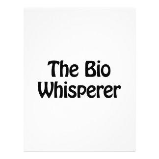 el bio whisperer folleto 21,6 x 28 cm