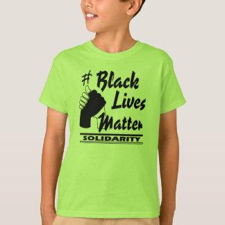 El #Black vive los niños de la solidaridad de la Camiseta
