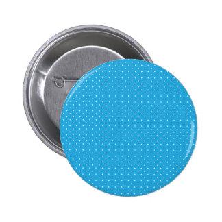 El blanco de la polca puntea imagen chapa redonda de 5 cm