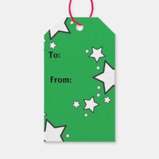 El blanco protagoniza etiquetas del regalo etiquetas para regalos