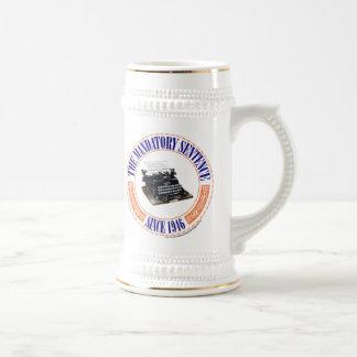 El blog Stein de la frase obligatoria Tazas De Café