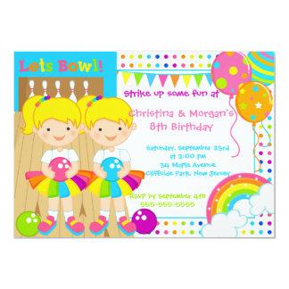 El Blonde hermana a la fiesta de cumpleaños de los Invitación 12,7 X 17,8 Cm