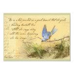 El Bluebird en la cita de Victor Hugo de la rama Comunicado