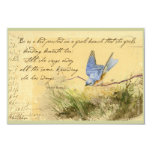 El Bluebird en la cita de Victor Hugo de la rama Comunicados