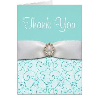 El boda azul le agradece las tarjetas