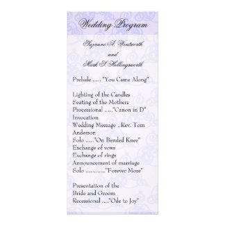 El boda contemporáneo programa amarillo lonas