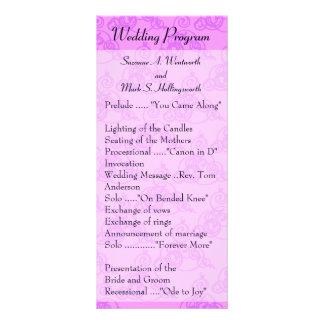 El boda contemporáneo programa Fucia Plantillas De Lonas