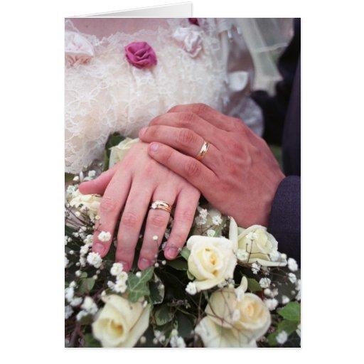 El boda da #1 - tarjeta de felicitación