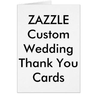 """El boda de encargo le agradece carda 4"""" x 5,6"""" tarjeta pequeña"""