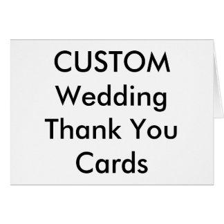 """El boda de encargo le agradece carda 7"""" x 5"""" tarjeta de felicitación"""