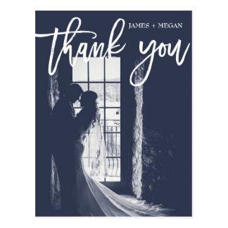 El boda de la foto de la caligrafía de la postal