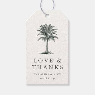El boda de la palma de La Habana le agradece Etiquetas Para Regalos