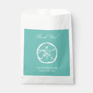 El boda de playa de encargo le agradece los bolsos bolsa de papel