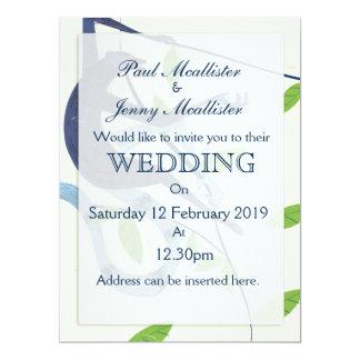 El boda de Sri Lanka invita Invitación 16,5 X 22,2 Cm