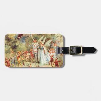 El boda de Thumbelina en el bosque Etiquetas Para Maletas
