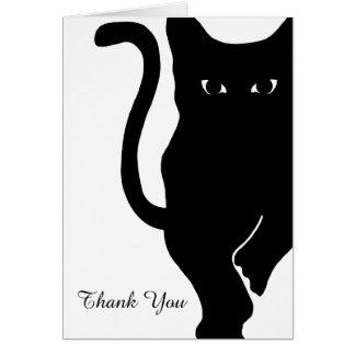 El boda del gato negro le agradece tarjeta de felicitación