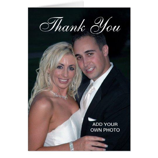 El boda elegante le agradece las tarjetas de la