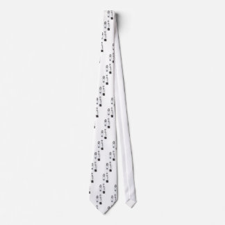 El boda espeluznante corbata