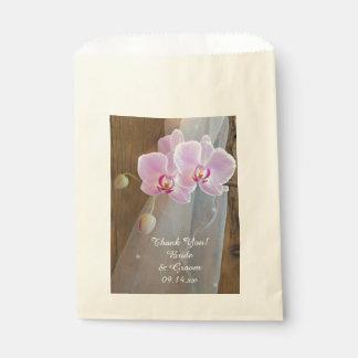 El boda rústico del país de la elegancia de la bolsa de papel