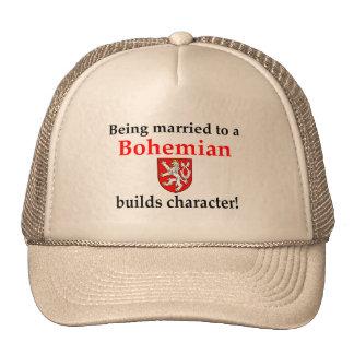 El bohemio construye el carácter gorra